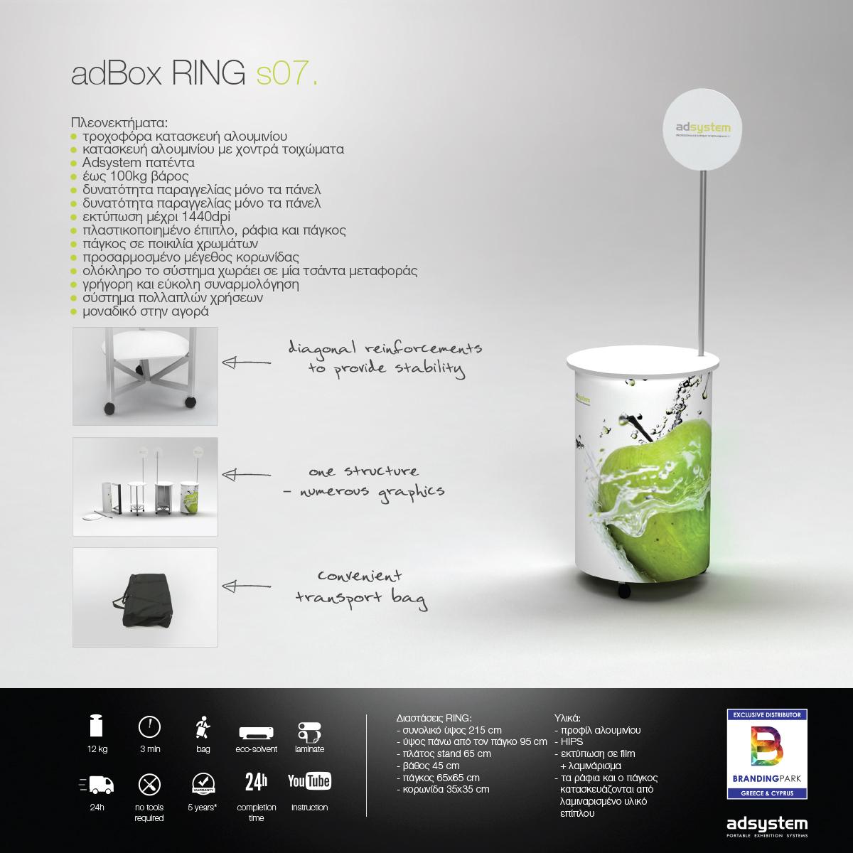 Promo Stand adBox Ring s07